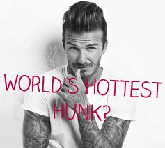 david beckham is the sexiest man alive